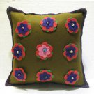 Handmade Turkish pillow nomadic gypsy hippie style cushion cover tribal L 8