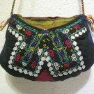 Vintage bag embroidery bag suzani fabric antique Turkish bag vintage purse c 053