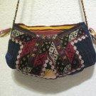 Vintage bag embroidery bag suzani fabric antique Turkish bag vintage purse c 060