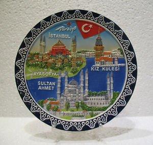 Hagia sophia blue mosque SultanAhmet camii The Maiden's Tower Turkish ceramic 5
