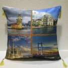 My love Istanbul Tower cushion home decor modern decoration sofa cover throw 41