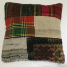 Antique Decorative Couch Throw Pillow Turkish Kilim Rustic Cushion 18'' (10)