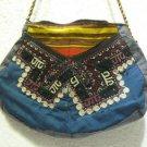 Vintage bag embroidery bag suzani fabric antique Turkish bag vintage purse c 025