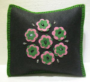 Handmade Turkish pillow nomadic gypsy hippie style cushion cover tribal ys 2