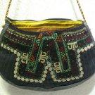 turkish bag embroidery bag suzani fabric antique vintage bag vintage purse c 02