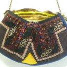 turkish bag embroidery bag suzani fabric antique vintage bag vintage purse c 03