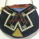 Vintage bag embroidery bag suzani fabric antique Turkish bag vintage purse c 012