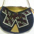 Vintage bag embroidery bag suzani fabric antique Turkish bag vintage purse c 020