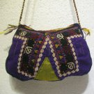 1 of a kind Turkoman emroidery Suzani bag turkish embroidery fine suzani bag 042