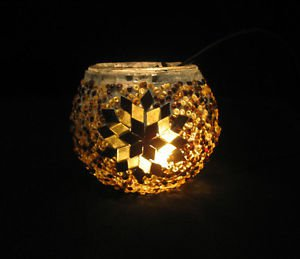 mosaic glass table lamp tischlampe moroccan lantern lampe mosaique candle 15