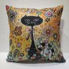 Smart cat pillow cushion home decor modern decoration sofa cover throw 45