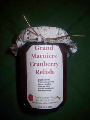Olde Country Grand Marnier� Homemade Cranberry-Orange Relish, 8 oz
