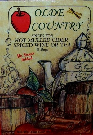 Olde Country Mulling Spices in Tea Bags, Box of 8