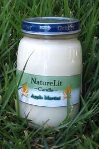 Eco Friendly 6 0z Gerber Candle