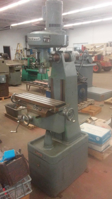 ROCKWELL MILLING MACHINE