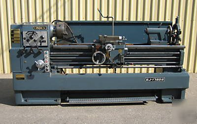 "17""/24"" x 60"" (New Old Stock) Osama Sr. Geared Head Gap Bed Lathe, Mdl. MO-1760"