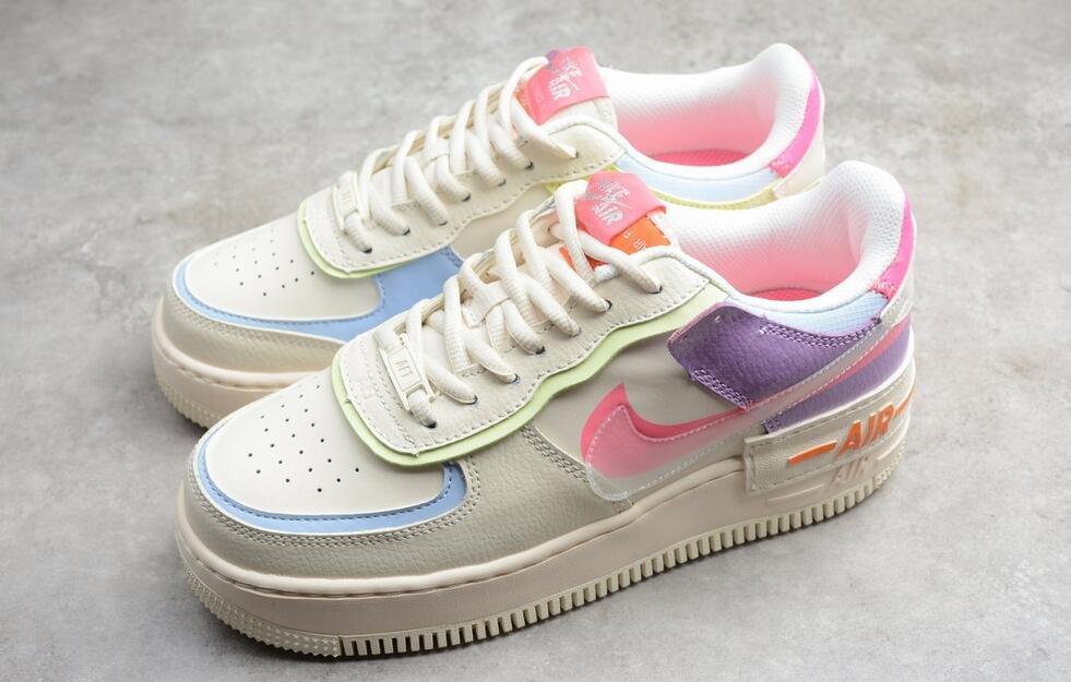 Nike Air Force 1 Shadow Beige Pale Ivory