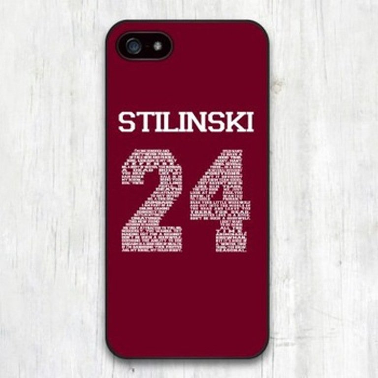 Teen Wolf Stilinski 24 Cover Case For Apple iPhone 6 6 plus 5 5s 5c 4 4s