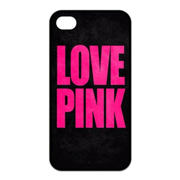 Victoria Secret I love pink Silicone Case for iphone  4 5 5c 6 6 plus