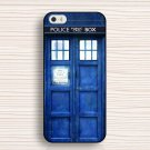 NEW Tardis Doctor Who Hard Back Cover Skin For Iphone 4 4s 5 5s 5c 6 6plus