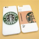 Starbuck Coffee TPU Slim Back Cover Skin for Apple iPhone 6 6s 4.7