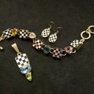 Checkered Bracelet by Charles Albert