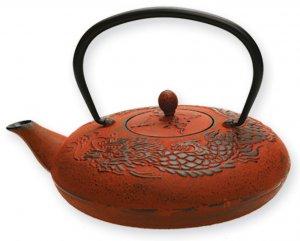 Red Dragon Teapot (Five Elements)