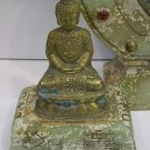 Jade Incense Burner with Buddha on Lid (Good Feng Shui)