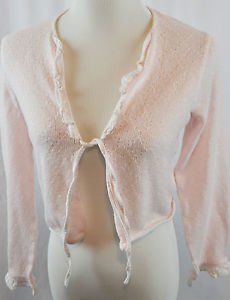 Laura Asheley Pink Cardigan Size Small