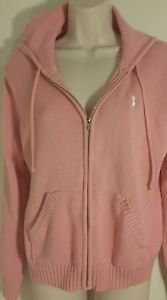 Pink Lady Izod Hooded Sweater