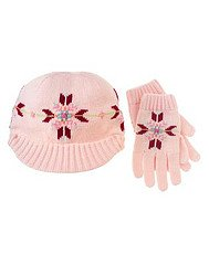 Park City Luxe Hat and Gloves Set 5-7