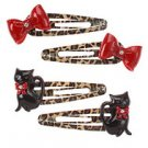 Glamour kitty Hair Clips