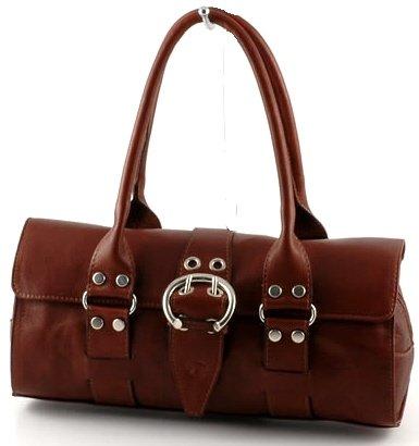 """amanda"" Italian Leather Shoulderbag"