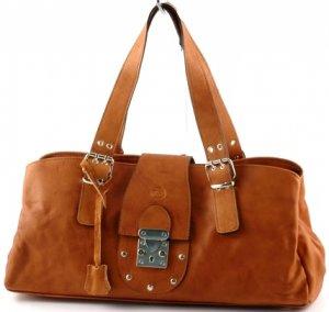 """sandra"" Italian Leather Shoulderbag"