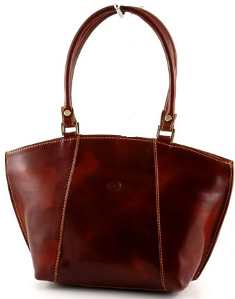 """chiara"" Italian Leather Tote"