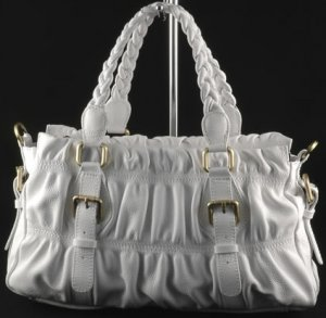 """samantha"" Italian Leather Shoulderbag"