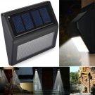 2 pcs new 6LED Solar Power PIR Motion Sensor Wall Light Outdoor Waterproof Garden Lamp