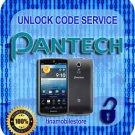 Pantech Unlock code Discover P9090 Laser P9050 Crossover P8000 + More 69 Models