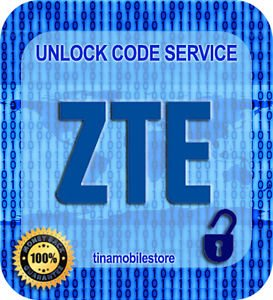 Unlock Code for ZTE Grand X Max Z987 Z787 Overture 2 Z813 Z777 from CRICKET