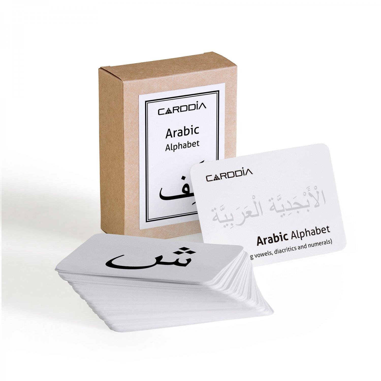Arabic alphabet (including consonants, vowels, diacritics and numerals)