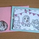 Handmade Birthday Notecard, Blue