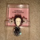BRAND NEW TARINA TARANTINO SKULL HAIRCLIP WITH LARGE CRYSTAL DROP  **FREE US SHIPPING**
