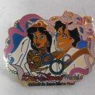 Jasmine Alladin Millennium 2000 Wedding Pin -Walt Disney World