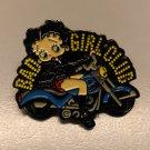 Universal Studios Betty Boop BAD GIRL CLUB Motorcycle Pin