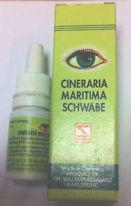 2x Dr William Schwabe Cineraria Maritima GERMAN HOMEOPATHIC  Eye Drops 10mL