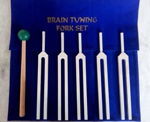 Tuning Fork set for Psychic abilities of Brain