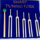 Sharp Tuning Fork with Mallet And Velvet Packing