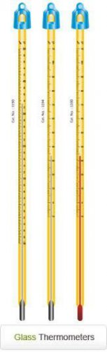 Glass thermometer -10 ~ 360 Celsius 300mm
