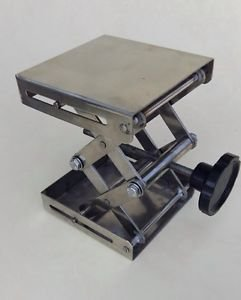 "Stainless Steel Laboratory Jack Stand Rack Scissor 8"" Brand New"