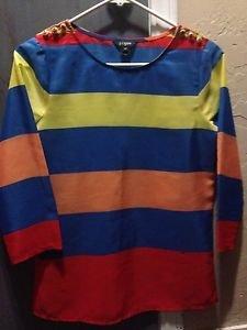 J.CREW Multicolored Blouse Size XXS